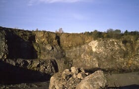 Quarry at Champagnac
