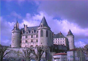 Chateau at La Rochefoucauld