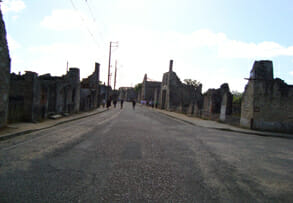 Martyred village - oradour sur glane