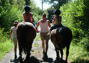 Horse Riding near La Croix Spa