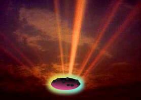 Meteorite (artists impression)