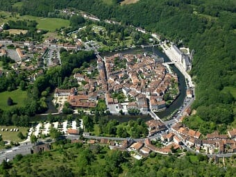 Brantome from the air