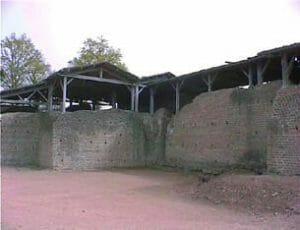 Gallo Roman Baths at Chassenon