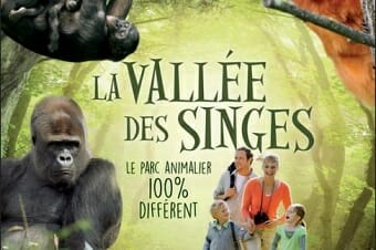 La Vallée des Singes is a popular destination on Easter weekend breaks from La Croix Spa