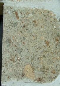 Impact breccia of Rochechouart metoeorite (at La Croix Spa)