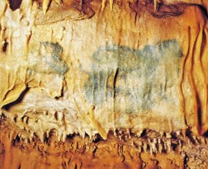 Cave painting in the Grotte de Villars