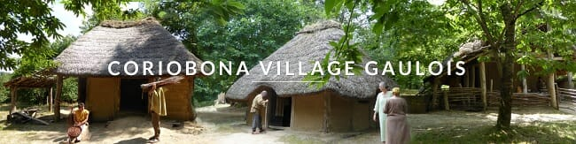 Coriobona, Reconstructed ancient Gaulish village