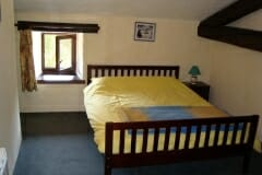 Sartre's Double bed bedroom